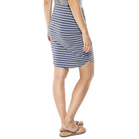 Patagonia Ribbon Falls Skirt Women Sentinel Stripe Small: Dolomite Blue